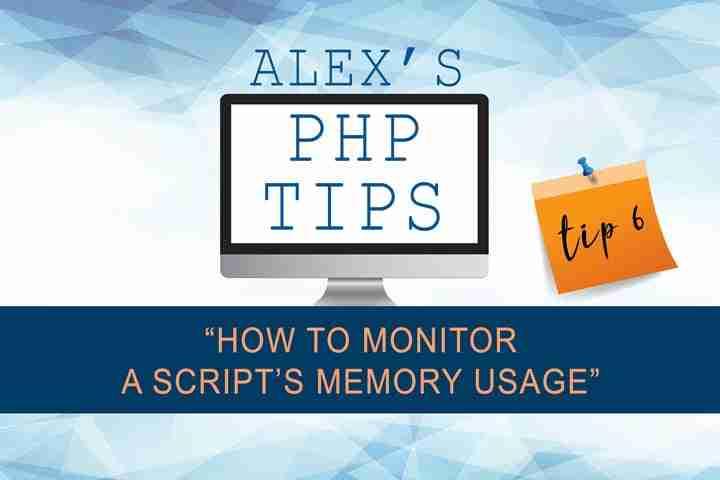 Monitor a script's memory usage