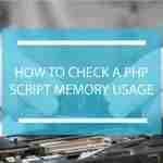 PHP memory usage