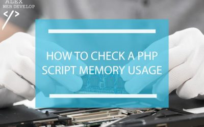 How to check how much memory your PHP scripts use: a tutorial with examples