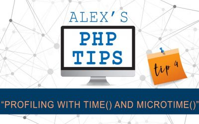PHP tip 4: profiling with time and microtime