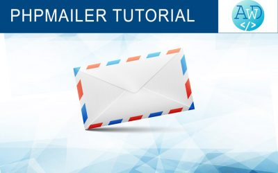 PHPMailer complete tutorial with examples: how to send emails with PHP (updated in 2018 with Composer installation)